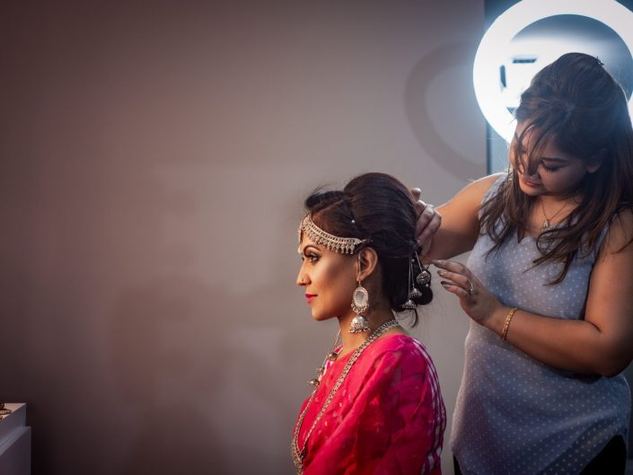 Bridal shoot for Glam by Shegufta featuring Sharine & Poonam